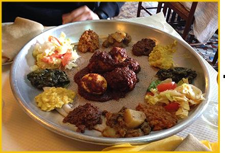 Restaurant Ethiopien Paris