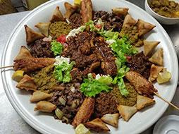 Plats Restaurant Ménélik Cuisine Ethiopienne Mengmeng Me