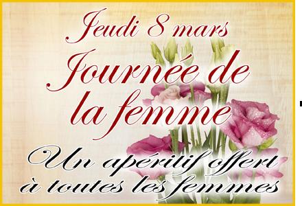 8 mars, journee de la femme
